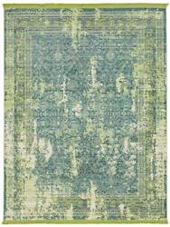 Brooklyn Carpet Modern Area Rugs For Home Living Room Green 5and039 7 X 7and039 7 Feet
