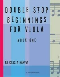 Double Stop Beginnings For Viola Book One Brand New Free Shipping In The Us