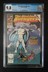 West Coast Avengers 45 Nm 9.8 Cgc 1st Appearance White Vision