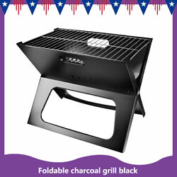 Portable Foldable Notebook Stove Charcoal Grill Outdoor Garden Grill Portable