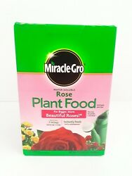 Miracle-gro Rose Plant Food Grow Bigger Roses 1.5-pounds Rose Fertilizernew