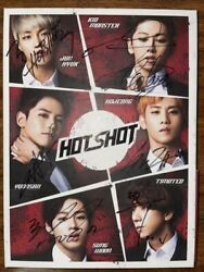 Hotshot [take A Shot] Autographed Signed Promo Album Wanna One Ha Sung Woon
