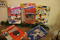 Vintage Wheaties Boxes / Flutie Flakes Cereal Boxes