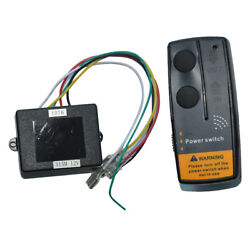 Wireless Remote Control Switch Kit Anchor Winch Windlass Controller For Marine