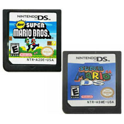 New Super Mario Bros Super Mario 64 DS Game Card for Nintendo NDSL DSI DS 3DS
