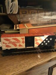 Lionel 6-26778 Snap-on Tools Box Car W/lighted Flag Mint In Shipping Carton