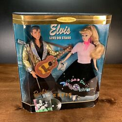 1996 Barbie Loves Elvis Dolls Collectors Edition New In Box