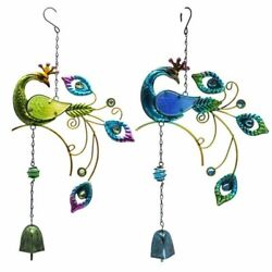 Creative Colorful Peacock Wind-chime Home Pendant Ornaments And Garden Decorations