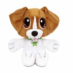 Rescue Tales Cuddly Beagle Puppy Dog Plush Stuffed Animal Pet with Warming Pouch