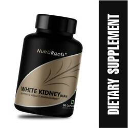 White Kidney Bean Extract Powder Fat Burner Carb Weight Loss 1000mg