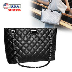 Woman Fashion Shoulder Bag Crossbody Soft Leather Handbag Chain Tote Messenger $12.99