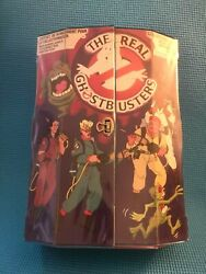 Vintage The Real Ghostbusters Collectors Case Plus 14 Action Figures