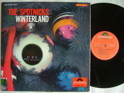 The Spotnicks In Winterland Christmas / 60and039s Laminated Flip Back Cover