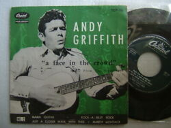 Andy Griffith A Face In The Crowd / Jpn 7inch Ps