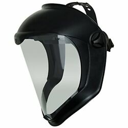 Uvex By Honeywell Bionic Face Shield With Clear Polycarbonate Visor