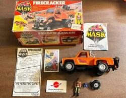 1985 Firecracker And Hondo Complete With Box Vintage M.a.s.k Kenner Vehicle Figure