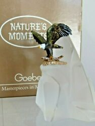 Goebel Miniature Nature's Moments Preparing For Flight Eagle Paperweight Figure