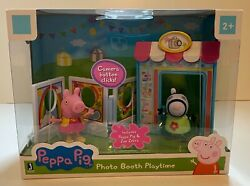 Peppa Pig Photo Booth Playtime Playset - Peppa Pig And Zoe Zebra - New Sealed