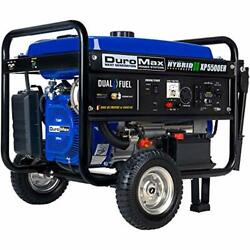 Duromax Xp5500eh Electric Start-camping And Rv Ready 50 State Approved Dual Fuel