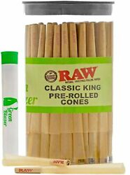 Raw Cones Classic King Size 100 Pack - Pre Rolled Cones With Filter Tips