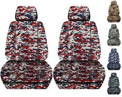Front Set Car Seat Covers Fits Ford Ranger 2019-2021 Choice Of 8 Colors