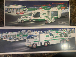 2001 And 2006 Hess Helicopter Sets/ Mint