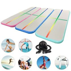 Inflatable Gymnastics Air Track 2m 3m 4m Tumbling Mat With Air Pump Airtrack