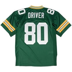 Green Bay Packers Donald Driver Mitchell And Ness Green 2000 Authentic Nfl Jersey