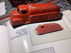 1949 Tootsie Toy Ford Oil Tanker Texaco 6andrdquo Long