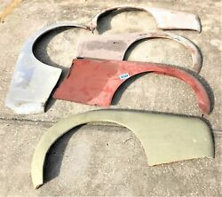 Used Oem ... And03957 - And03962 Triumph Tr3a - Tr3b Rh And Lh Fenders And Trunk K021