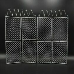 1 6 Scale Barbed Wire Fence Prison Fence Removable For 12quot; Action Figure Gifts