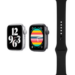 Apple Watch Nike Series 6 - 40mm/44mm - Two Colors - Black Sport Band - Gps/lte