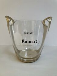Vintage French Champagne French Ice Bucket Cooler Basin Ruinart