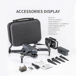 F11 Pro Rc Drone 4k Uhd Camera For Adults With Extra Battery + Carrying Case