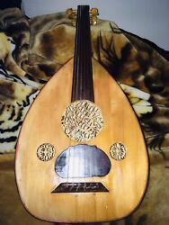 Iraqi Musician Oud Made By Fadhel And Sons Year 1997 Former Students Oud