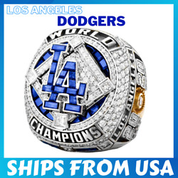 FROM USA OFFICIAL 2020 WORLD SERIES Championship LA Los Angeles Dodgers Ring