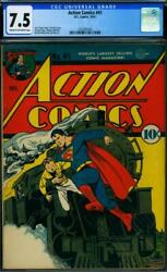 Action Comics 41 [1941] Certified 7.5 To The Rescue