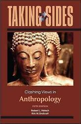 Clashing Views In Anthropology, Paperback By Welsch, Robert L. Edt Endicot...