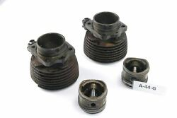 Bmw R 51/3 Bj 1951 - Cylindre + Piston A44g