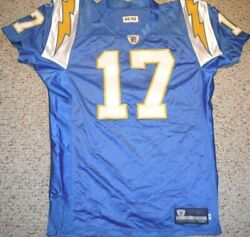2005 San Diego Chargers Phillip Rivers Throwback Authentic Game Jersey Usa Made