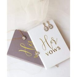 Wedding Vow Books His And Hers Hardcover Linen Wedding Vow Books Wedding Keepandhellip