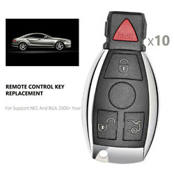 10 Replacement For Mercedes-benz Iyz3312 Keyless Entry Remote Key Fob Control