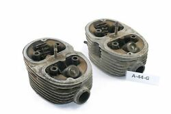 Bmw R 51/3 Bj 1951 - Cylinder Head Right + Left A44g
