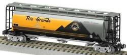 Lionel 48644 American Flyer 164 Cylindrical Hopper Rio Grande Up Heritage