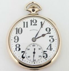 .1919 Illinois Sangamo Special 23 Jewel Gold Filled Of 16s Railroad Pocket Watch