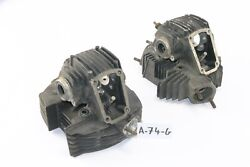 Ducati Indiana 750 - Cylinder Head Right + Left A74g