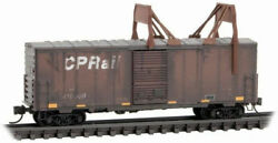 Micro-trains Mtl N-scale Canadian Pacific/cp Rail Ice Breaker Weathered 410009