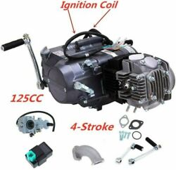 125cc 4 Stroke Engine Motor Fit For Crf50 Crf70 Xr50 Ct70 Ct90 Ct110 Bike