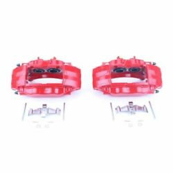 Power Stop 04-14 For Subaru Impreza Front Red Calipers W/o Brackets - Pair
