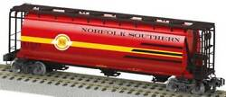 Lionel 48673 American Flyer 164 Cylindrical Hopper Norfolk Southern